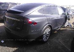 2018 Tesla MODEL X - 5YJXCDE47JF090095 rear view
