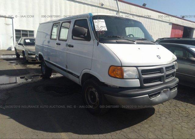 Inventory #744173381 2002 Dodge RAM VAN