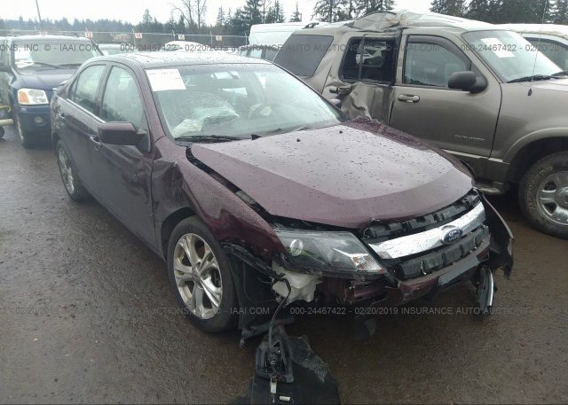 Inventory #302712705 2012 FORD FUSION