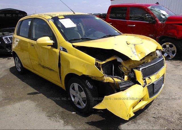 Inventory #751254321 2011 Chevrolet AVEO