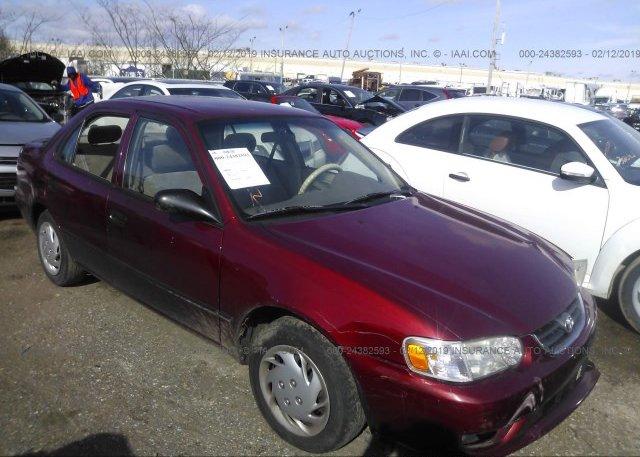 Inventory #627977423 2001 Toyota COROLLA