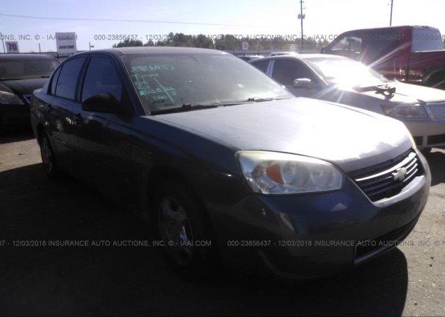 Inventory #460845319 2007 Chevrolet MALIBU