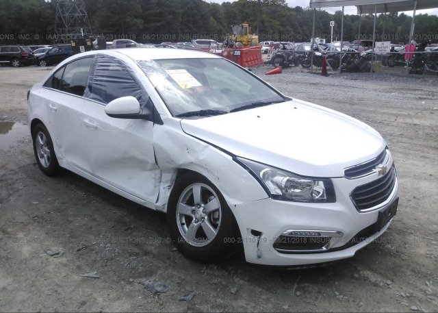 Inventory #661084646 2016 Chevrolet CRUZE LIMITED