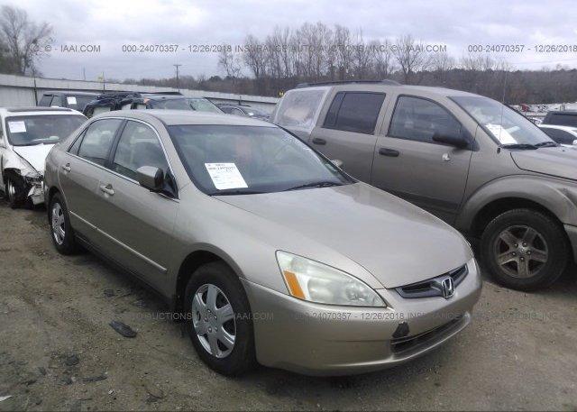 Inventory #895059146 2003 Honda ACCORD