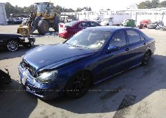 2003 Mercedes-benz S - WDBNG83J33A366410 Right View