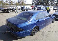 2003 Mercedes-benz S - WDBNG83J33A366410 rear view