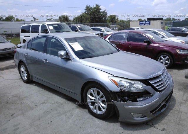 Inventory #792480260 2012 Hyundai GENESIS