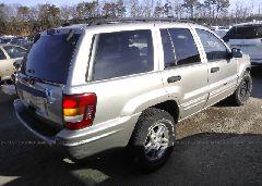 2004 JEEP GRAND CHEROKEE - 1J4GW48SX4C272080 rear view