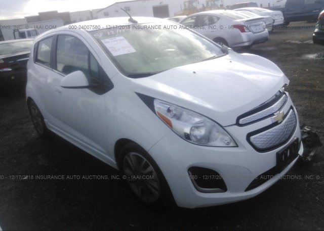Kl8ck6s05fc707313 Salvage Certificate White Chevrolet Spark Ev At