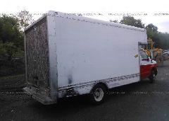 2000 FORD ECONOLINE - 1FDWE35S3YHA83438 rear view