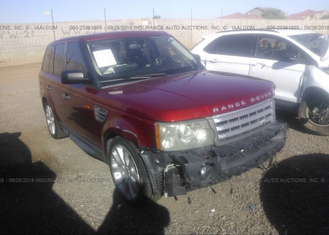Inventory #704512039 2006 Land Rover RANGE ROVER SPORT