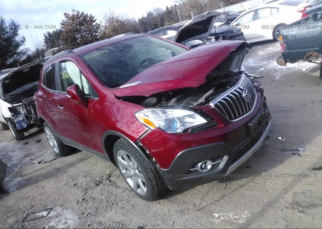 Red Buick Encore >> Kl4cjhsb6gb605074 Salvage Red Buick Encore At Portage Wi