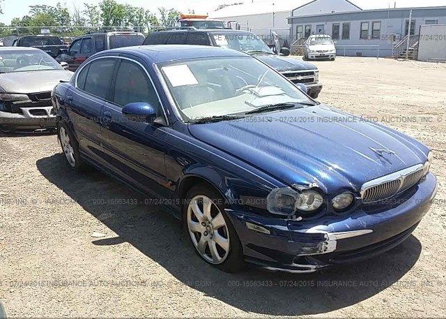 Sajwa51a25we61253 Salvage Blue Jaguar X Type At West