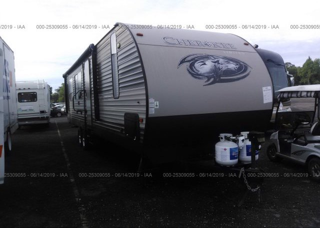 Inventory #823009690 2017 FOREST RIVER CHEROKEE TRVL TRLR