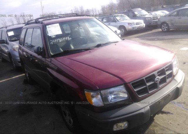 Inventory #575378377 2000 Subaru FORESTER
