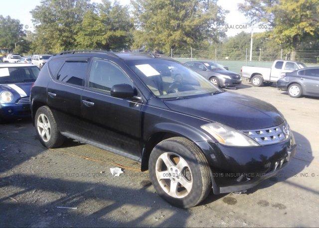 Jn8az08t34w223942 Clear Black Nissan Murano At Laurel Md On Online