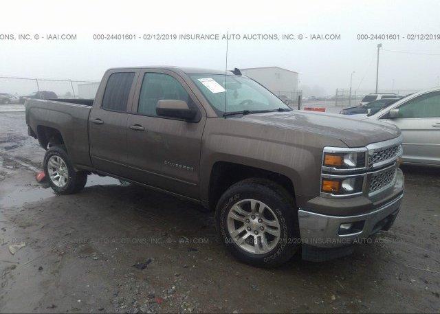 Inventory #780769853 2015 Chevrolet SILVERADO