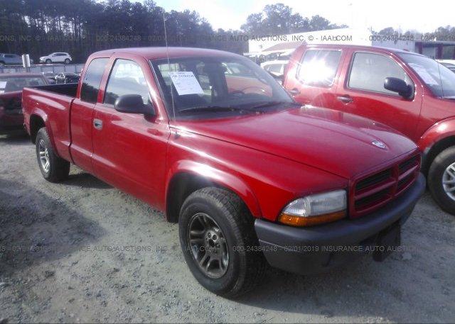 Inventory #316623175 2003 Dodge DAKOTA
