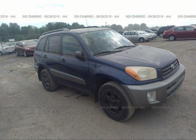 Inventory #529791959 2003 Toyota RAV4