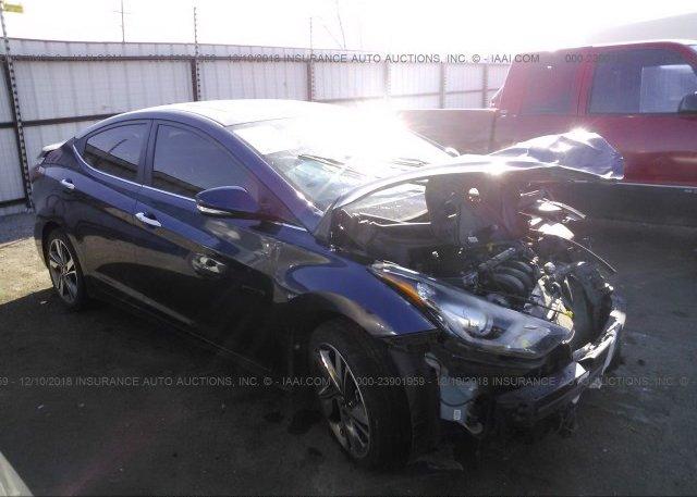 Inventory #125157955 2016 Hyundai ELANTRA