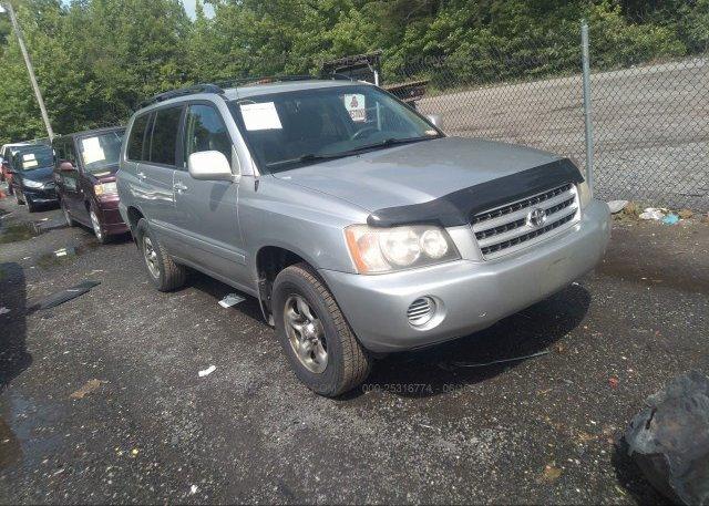 Inventory #870734220 2001 Toyota HIGHLANDER