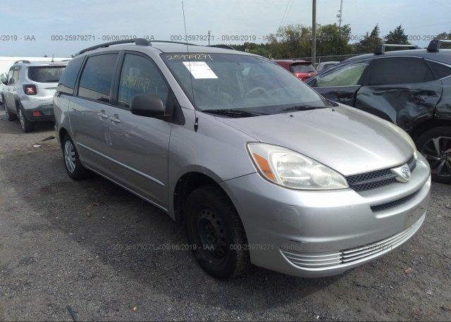 Inventory #535463837 2005 Toyota SIENNA
