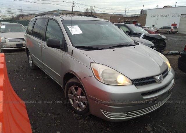 Inventory #405132843 2005 Toyota SIENNA