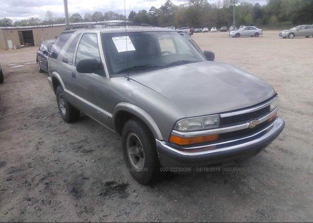 Inventory #515801475 2002 Chevrolet BLAZER