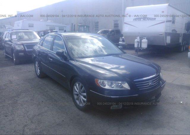Inventory #488002380 2006 Hyundai AZERA