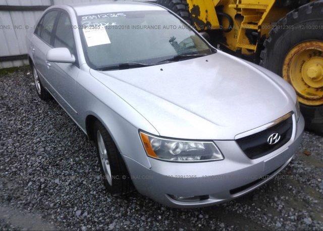 Inventory #833193391 2006 Hyundai SONATA