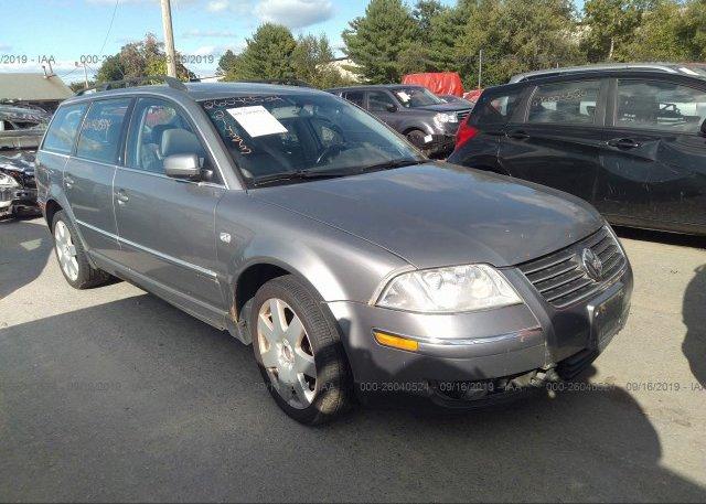 Inventory #721322420 2004 Volkswagen PASSAT