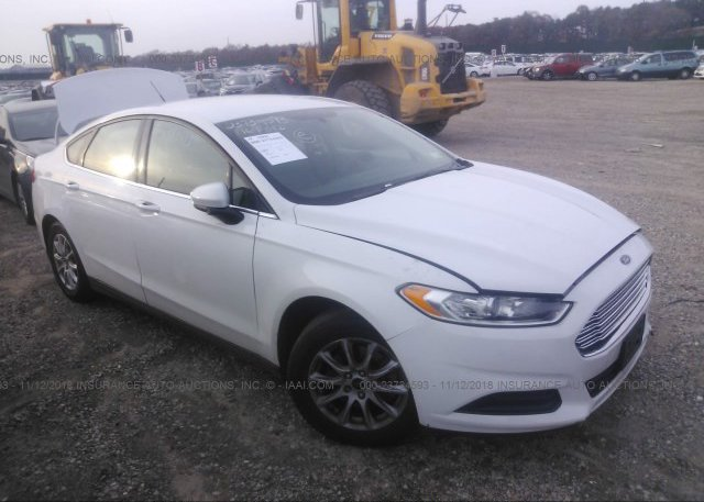 Inventory #895852130 2016 FORD FUSION