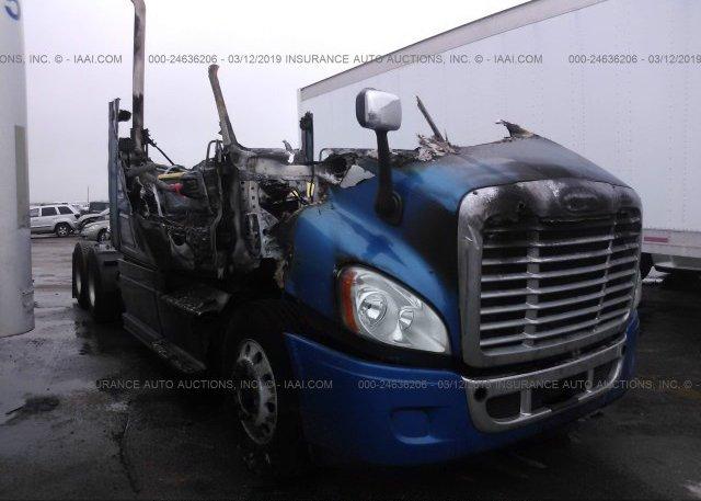 1FUJGLDR5DSBB5088, Non-Repairable blue Freightliner Cascadia 125 at