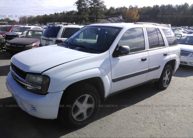 1gnds13s152185516 Clear White Chevrolet Trailblazer At Columbia Sc