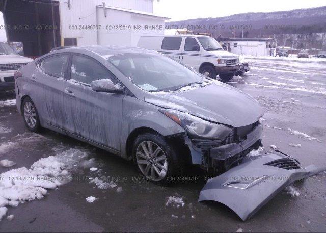 Inventory #310280888 2015 Hyundai ELANTRA