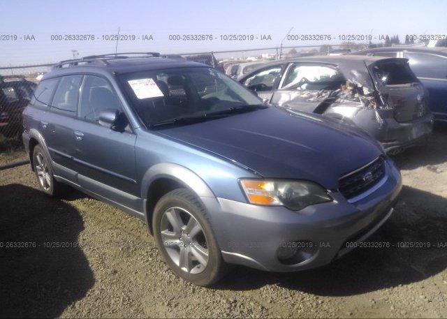 Inventory #365906607 2005 Subaru LEGACY