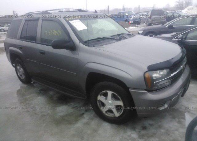 Inventory #158528690 2006 Chevrolet TRAILBLAZER