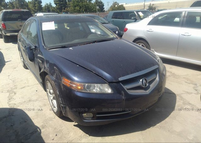 19UUA66218A025278, Salvage Certificate blue Acura Tl at