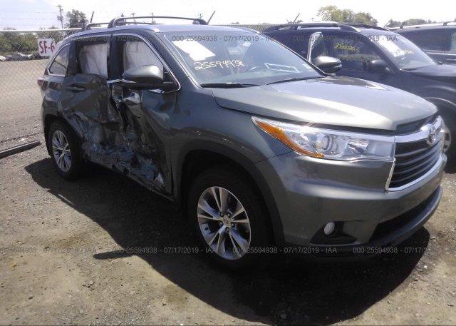 Inventory #182018678 2015 Toyota HIGHLANDER