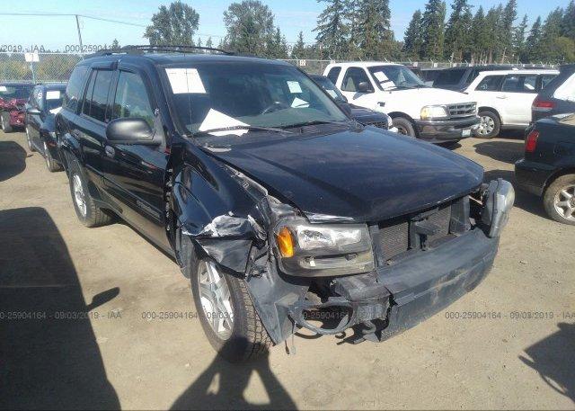 Inventory #988768561 2002 Chevrolet TRAILBLAZER