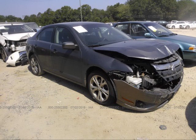 Inventory #374883214 2012 FORD FUSION