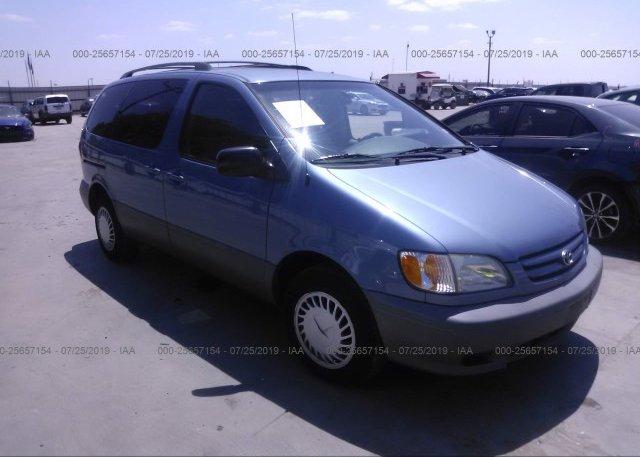 Inventory #434374732 2002 Toyota SIENNA