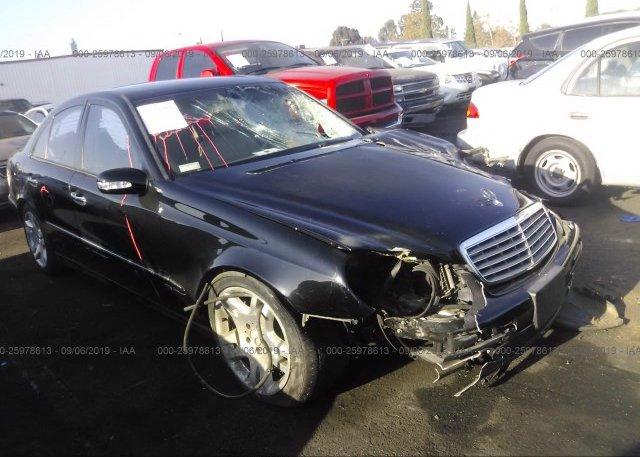 Inventory #339989494 2003 Mercedes-benz E