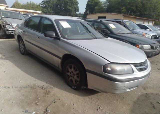 Inventory #650730295 2002 Chevrolet IMPALA