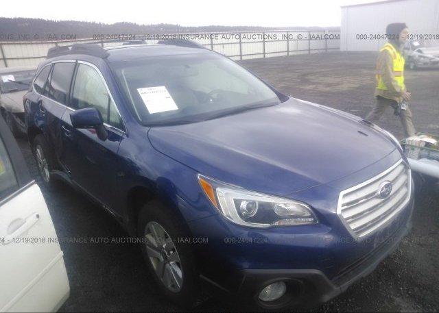 Inventory #157817988 2015 Subaru OUTBACK
