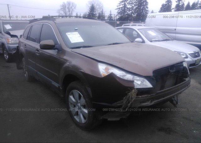 Inventory #681681156 2011 Subaru OUTBACK