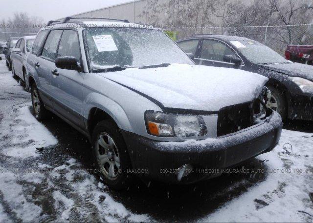 Inventory #301840140 2005 Subaru FORESTER