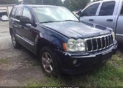 2006 JEEP GRAND CHEROKEE - 1J8HR58NX6C147643 Left View