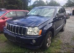 2006 JEEP GRAND CHEROKEE - 1J8HR58NX6C147643 Right View