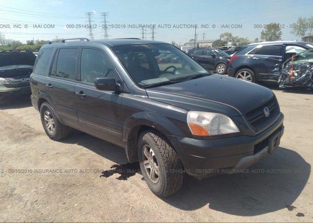 Inventory #205805135 2004 Honda PILOT